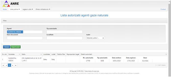 Firma cu Autorizatie-gaz Zalau Flexinstal