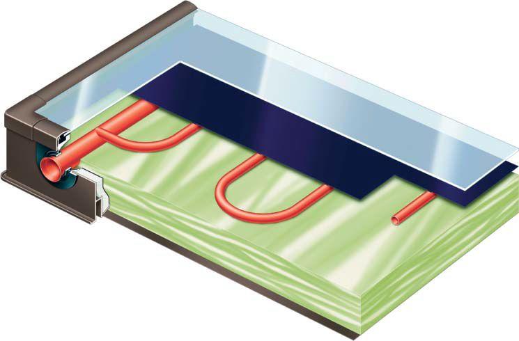 energie solara viessmann Vitosol 200 F interior