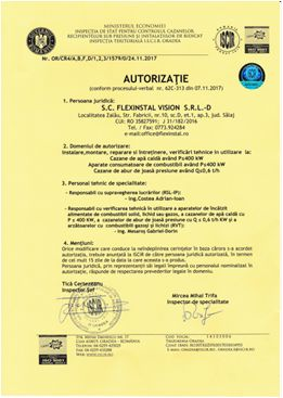 firma autorizata zalau iscir flex instal